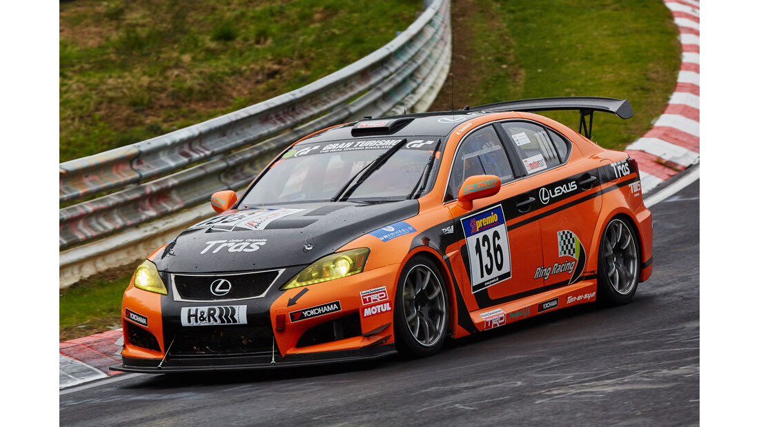 VLN - Langstreckenmeisterschaft - Nürburgring - Nordschleife - Lexus ISF CCS-R - #136
