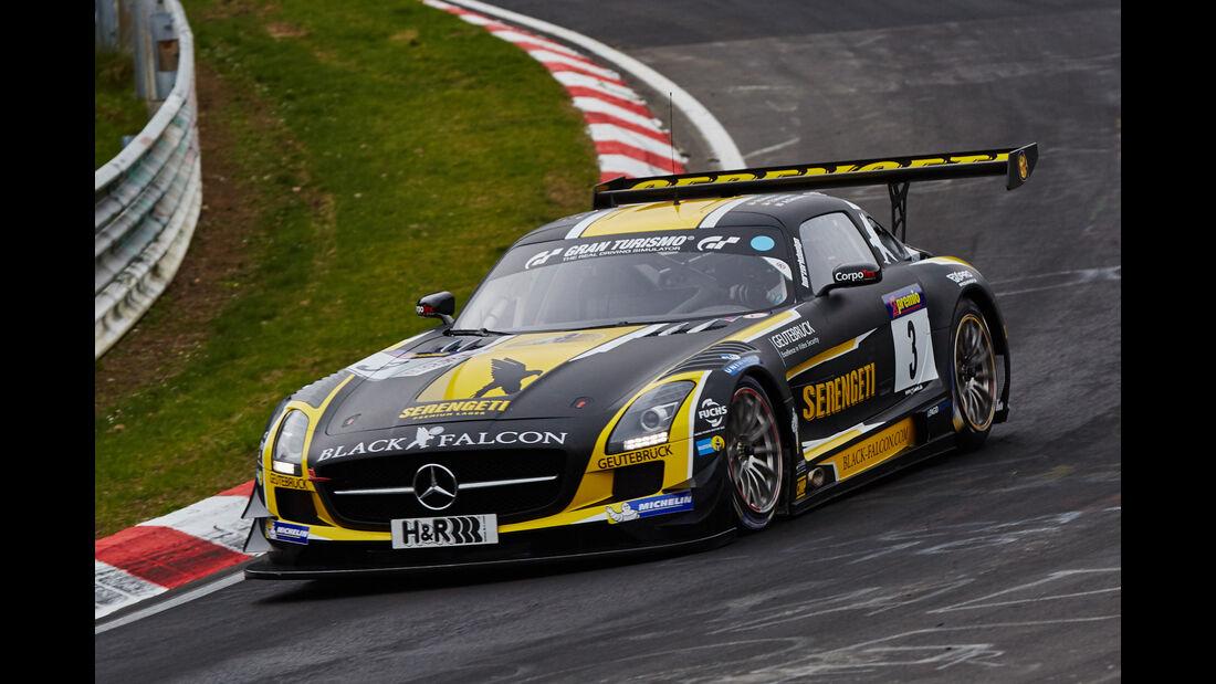 VLN - Langstreckenmeisterschaft - Nürburgring - Nordschleife - Mercedes-Benz SLS AMG GT3 - #3