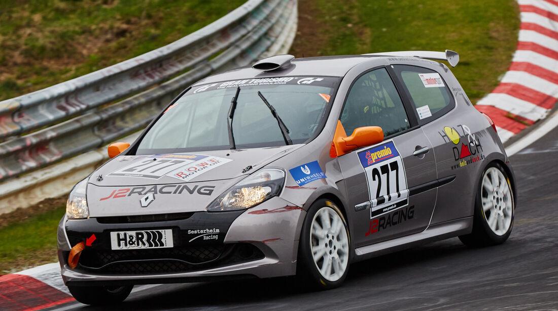 VLN - Langstreckenmeisterschaft - Nürburgring - Nordschleife - Renault Clio - #277