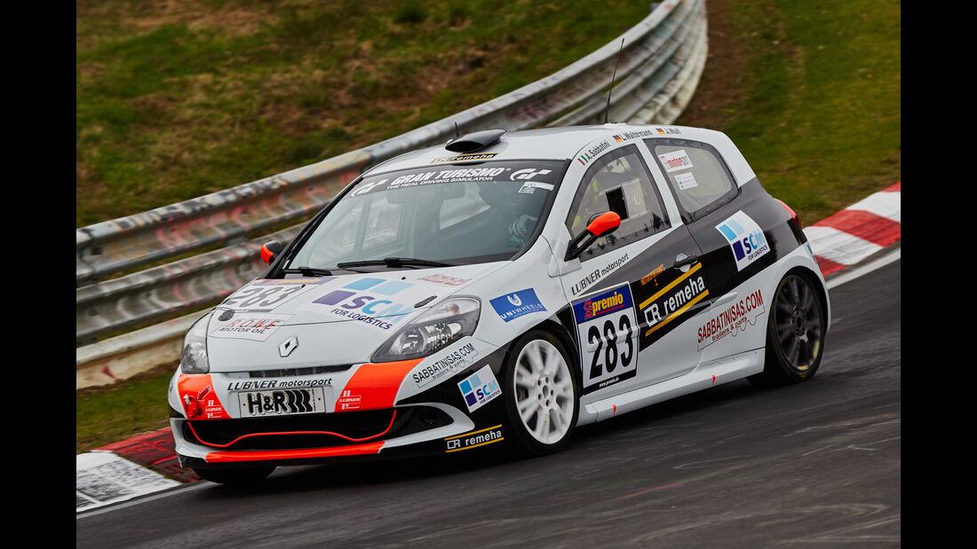 VLN - Langstreckenmeisterschaft - Nürburgring - Nordschleife - Renault Clio - #283