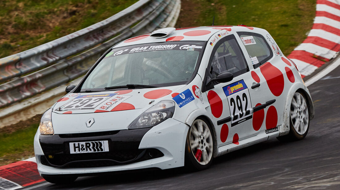 VLN - Langstreckenmeisterschaft - Nürburgring - Nordschleife - Renault Clio Cup rs - #292