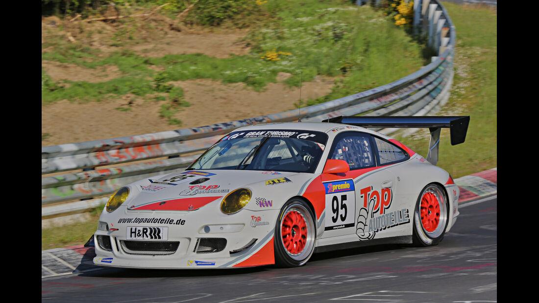 VLN Langstreckenmeisterschaft, Nürburgring, Porsche 911 GT3, Manthey Racing, SP7, #95