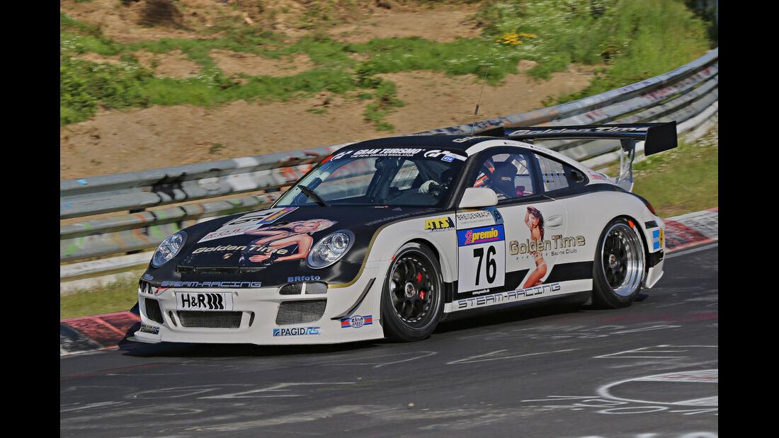 VLN Langstreckenmeisterschaft, Nürburgring, Porsche 997 GT3, Rent4Ring Racing, SP7, #76