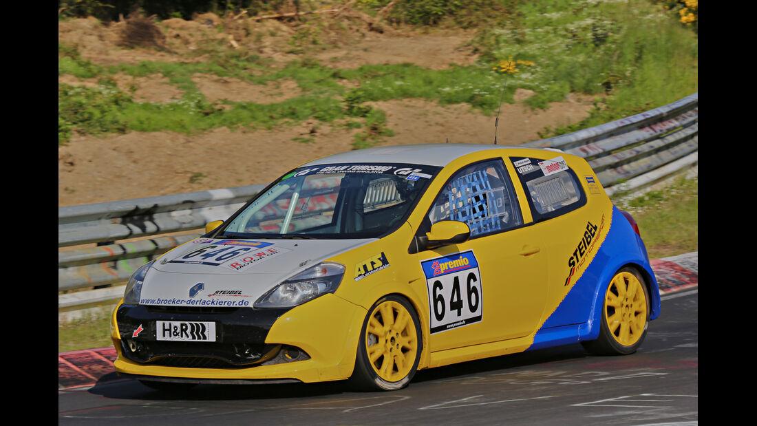 VLN Langstreckenmeisterschaft, Nürburgring, Renault Clio Cup, Cup3, #646