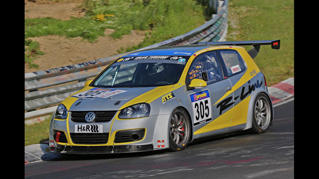 VLN Langstreckenmeisterschaft, Nürburgring, VW Golf, ACFL Sport Team Liechtenstein, SP3T, #305