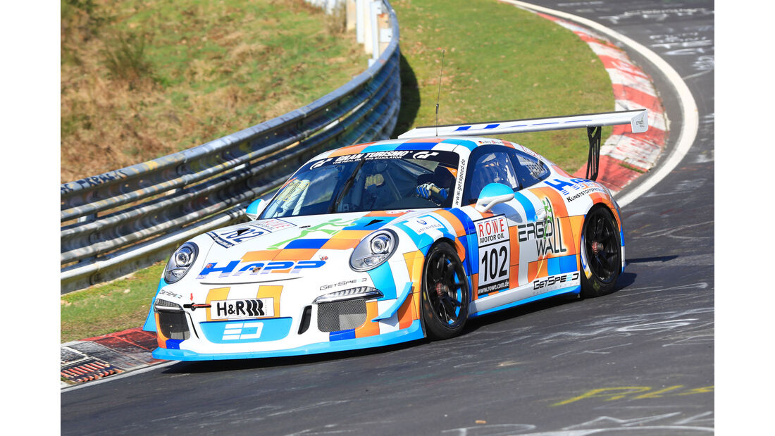 VLN - Nürburgring Nordschleife - Startnummer #102 - Porsche 911 GT3 Cup (991) - Gigaspeed Team GetSpeed Performance - CUP2