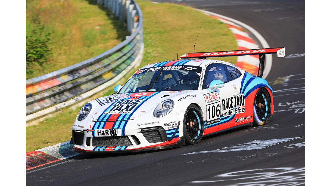 VLN - Nürburgring Nordschleife - Startnummer #106 - Porsche 911 GT3 Cup - GIGASPEED Team GetSpeed Performance - CUP2