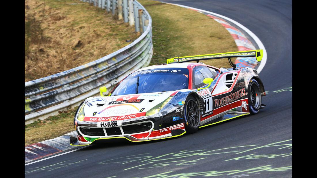 VLN - Nürburgring Nordschleife - Startnummer #11 - Ferrari 488 GT3 - Wochenspiegel Team Monschau - SP9 PRO