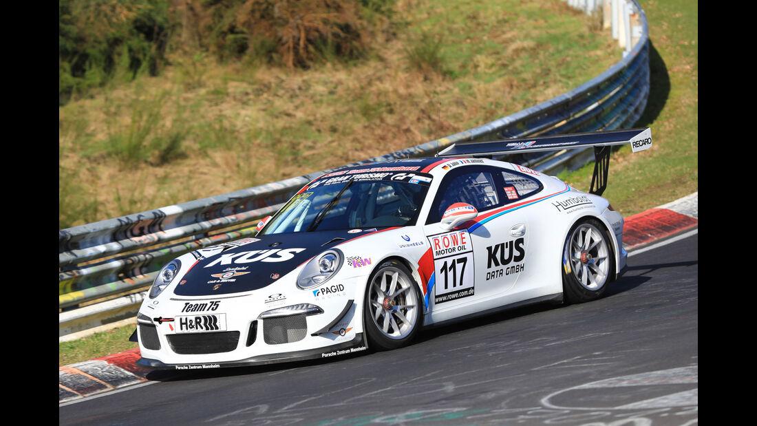 VLN - Nürburgring Nordschleife - Startnummer #117 - Porsche 911 GT3 Cup - Team75 Motorsport GmbH - CUP2