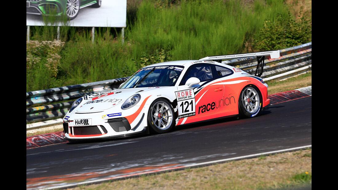 VLN - Nürburgring Nordschleife - Startnummer #121 - Porsche 911 GT3 Cup - Raceunion - Cup2