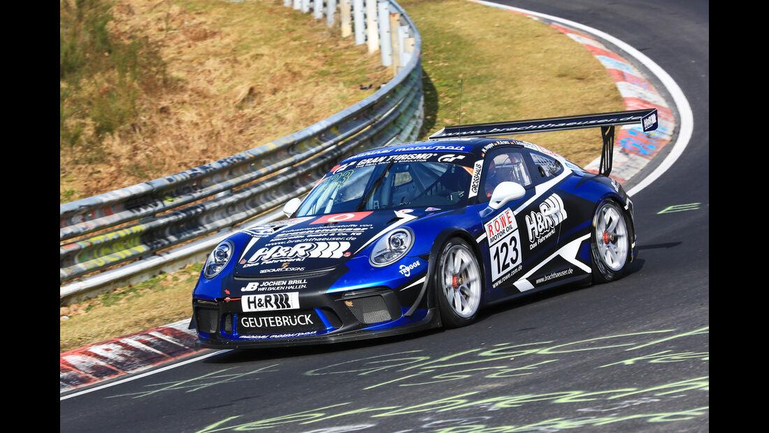 VLN - Nürburgring Nordschleife - Startnummer #123 - Porsche 911 GT3 Cup - Mühlner Motorsport SPRL - CUP2