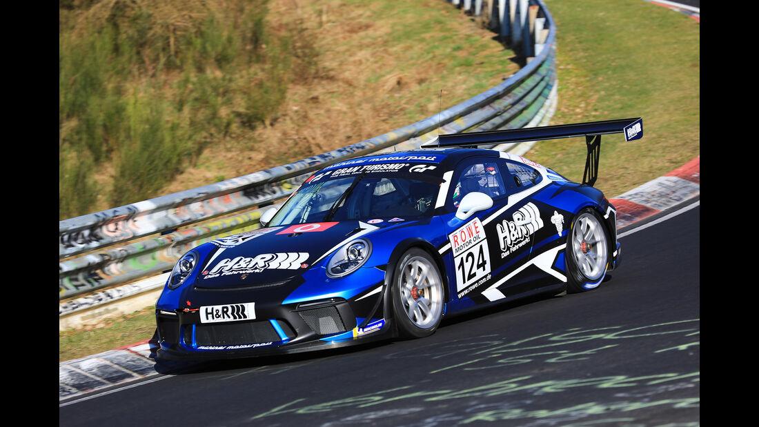 VLN - Nürburgring Nordschleife - Startnummer #124 - Porsche 911 GT3 Cup - H&R - Spezialfedern GmbH & Co.KG - CUP2