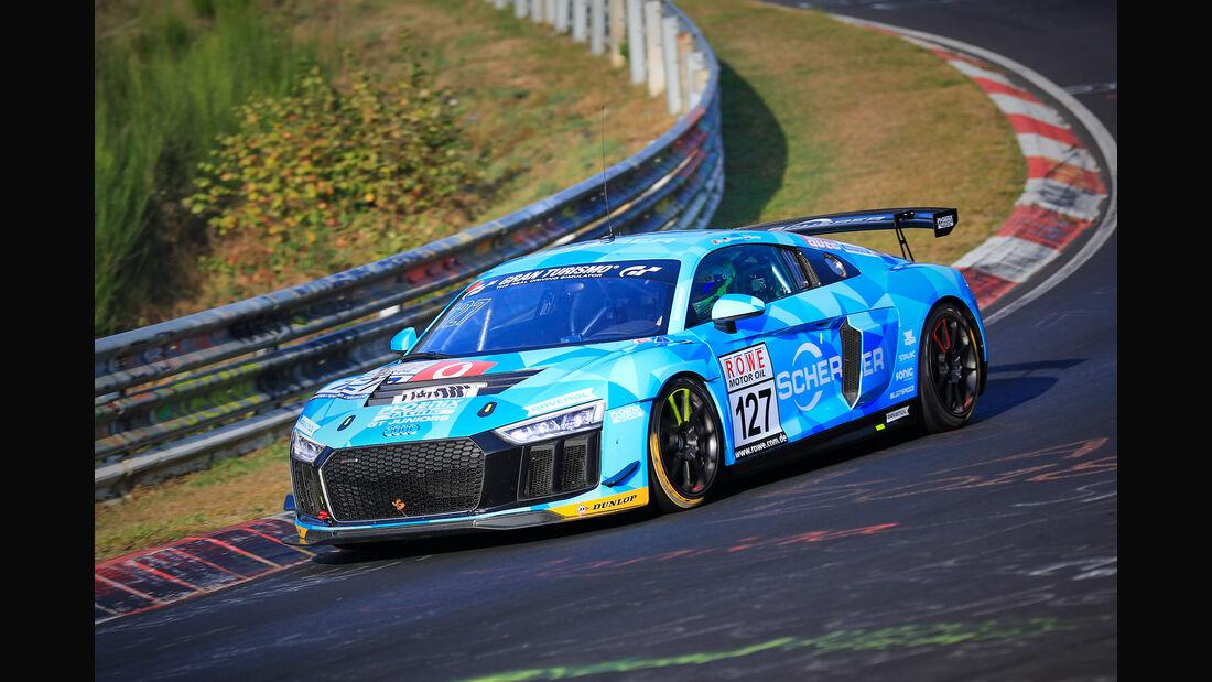 VLN - Nürburgring Nordschleife - Startnummer #127 - Audi R8 LMS - Phoenix Racing - SP8