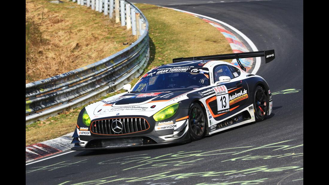 VLN - Nürburgring Nordschleife - Startnummer #13 - Mercedes-AMG GT3 - Auto Arena Motorsport - SP9 PRO