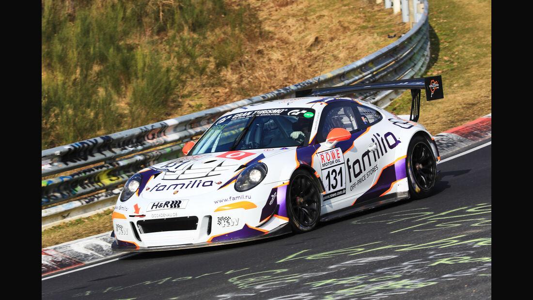 VLN - Nürburgring Nordschleife - Startnummer #131 - Porsche GT3 Cup MR - rent2drive-FAMILIA-racing - SP8