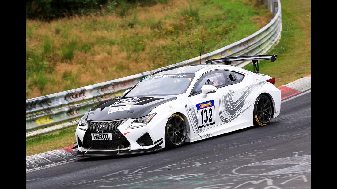 VLN - Nürburgring Nordschleife - Startnummer #132 - Lexus RC F - SP8