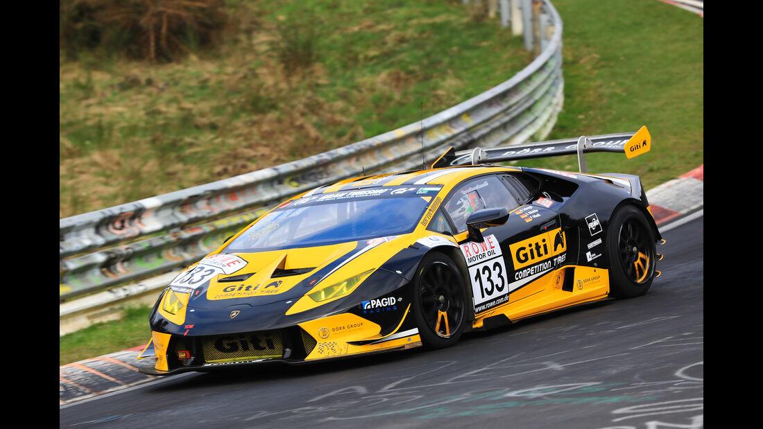 VLN - Nürburgring Nordschleife - Startnummer #133 - Lamborghini Huracán Super Trofeo - Dörr Motorsport GmbH - SP8