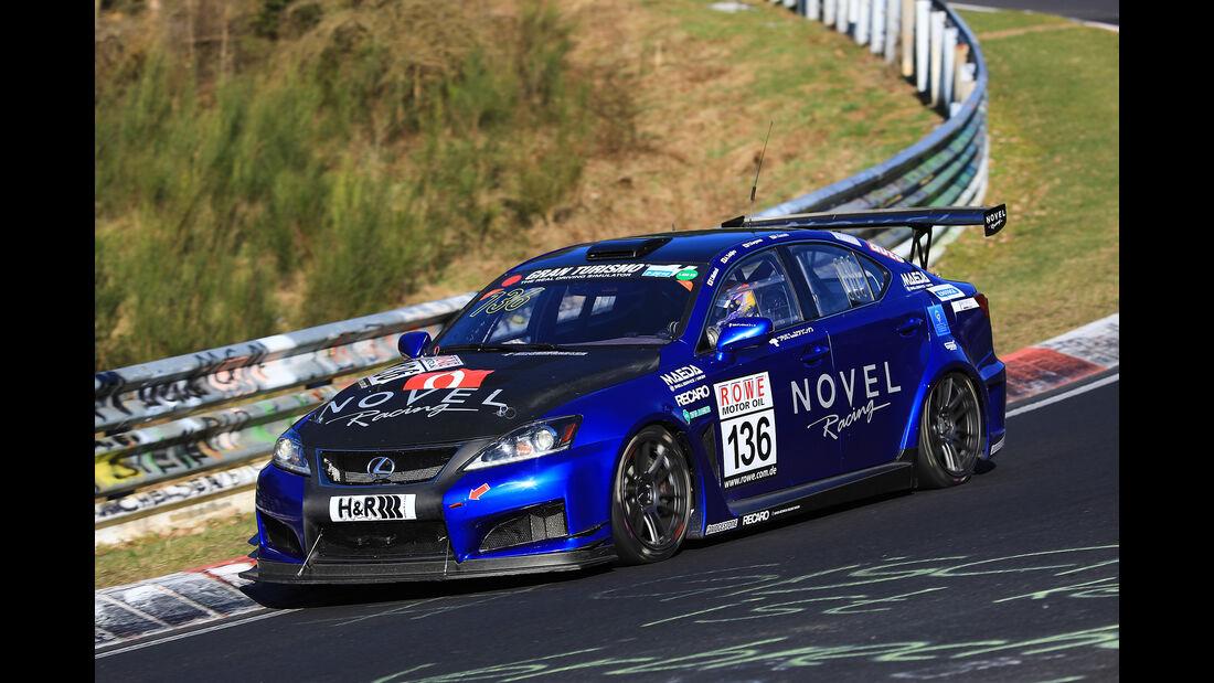 VLN - Nürburgring Nordschleife - Startnummer #136 - Lexus ISF CCS-R - SP8