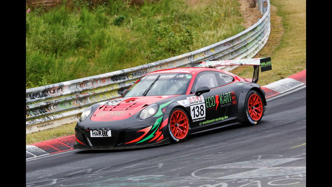 VLN - Nürburgring Nordschleife - Startnummer #138 - Porsche GT-3 Cup MR - SP8