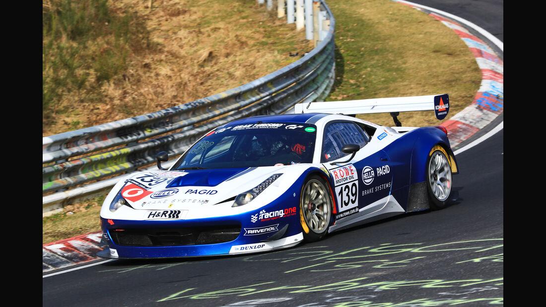 VLN - Nürburgring Nordschleife - Startnummer #139 - Ferrari 458 - racing one GmbH - SP8