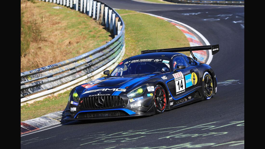 VLN - Nürburgring Nordschleife - Startnummer #14 - Mercedes-AMG GT3 - Mercedes-AMG Team BLACK FALCON - SP9 PRO