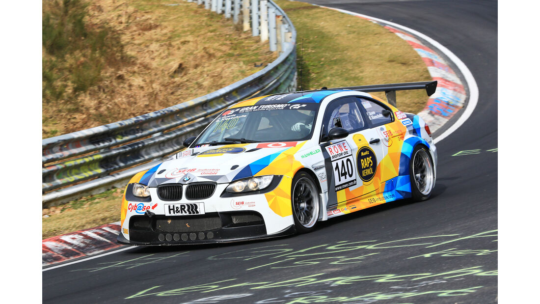 VLN - Nürburgring Nordschleife - Startnummer #140 - BMW M3 GTR 4,4 - Manheller Racing OhG - SP8