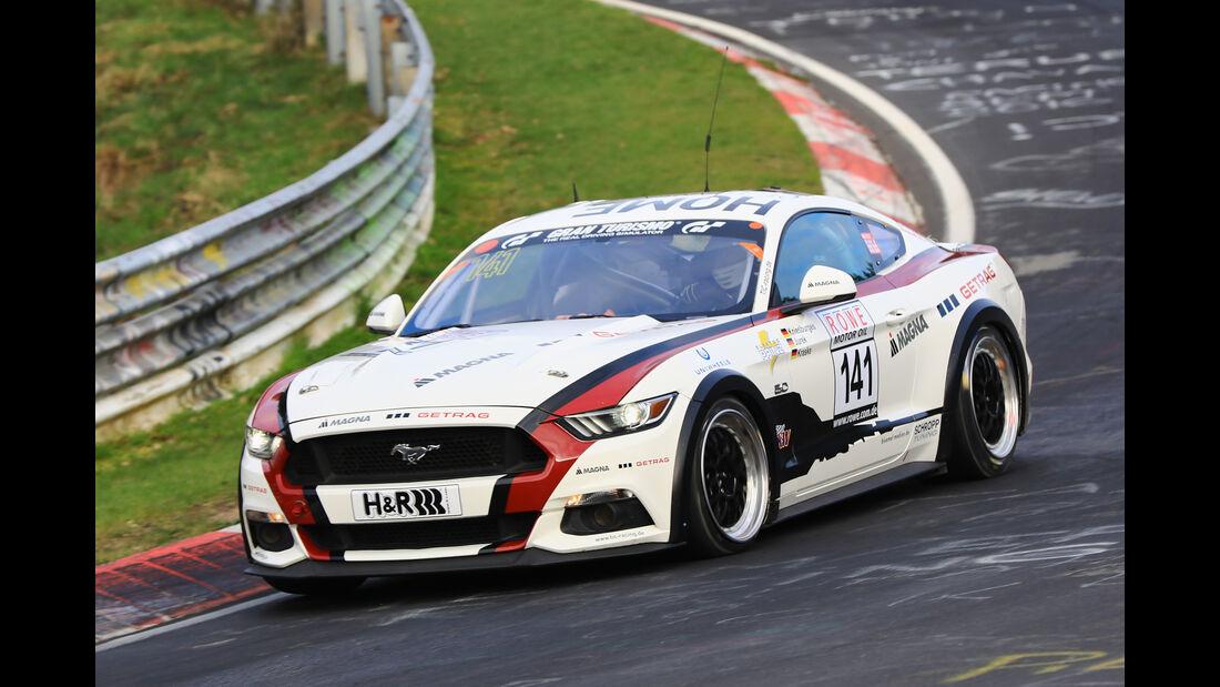 VLN - Nürburgring Nordschleife - Startnummer #141 - Ford Mustang GT - SP8