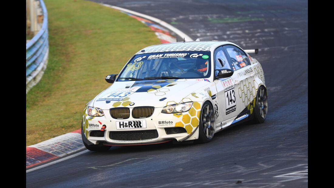 VLN - Nürburgring Nordschleife - Startnummer #143 - BMW E90 - SP8