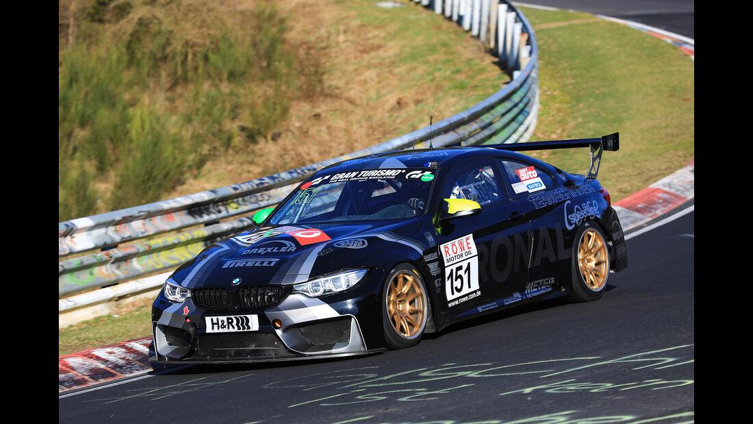 VLN - Nürburgring Nordschleife - Startnummer #151 - BMW M4 - Team Schirmer - SP8T