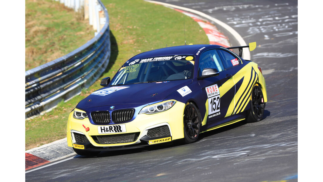 VLN - Nürburgring Nordschleife - Startnummer #152 - BMW M235iR - Walkenhorst Motorsport - SP8T