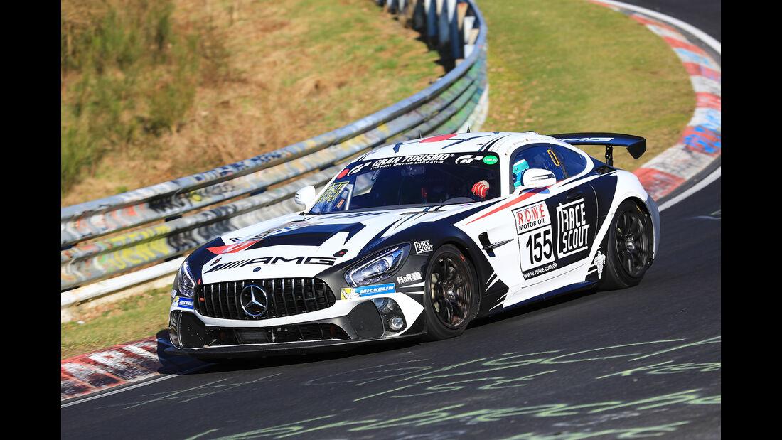 VLN - Nürburgring Nordschleife - Startnummer #155 - Mercedes-AMG GT4 - Mercedes-AMG Team Driving Academy - SP8T