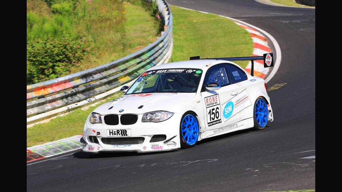 VLN - Nürburgring Nordschleife - Startnummer #156 - BMW 1er M Coupe - SP8T
