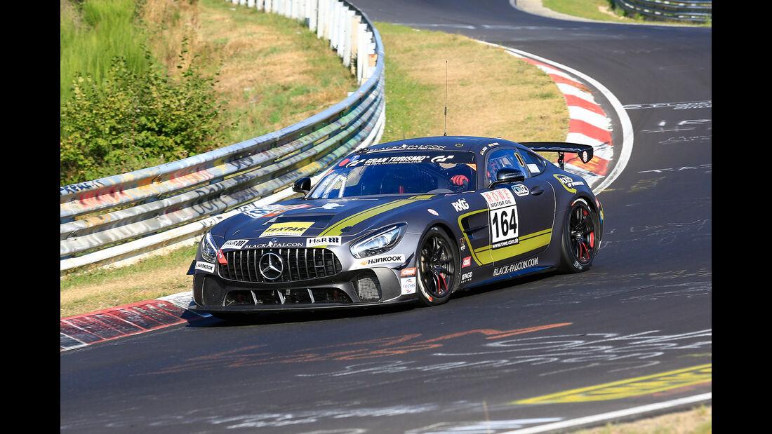 VLN - Nürburgring Nordschleife - Startnummer #164 Mercedes-AMG GT4 - Black Falcon Team TMD Friction - SP10