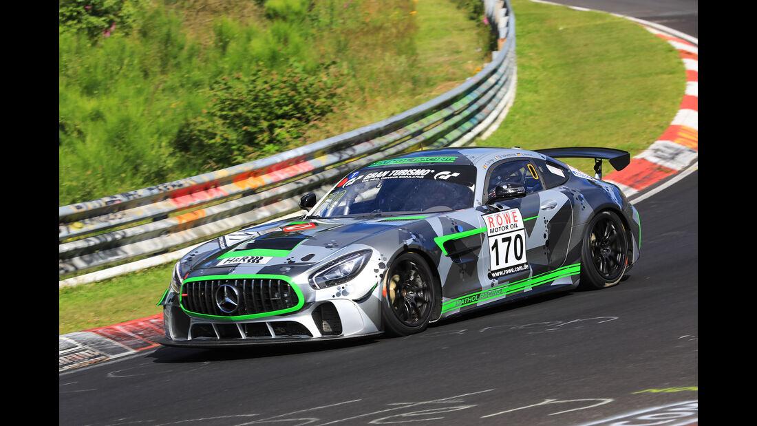 VLN - Nürburgring Nordschleife - Startnummer #170 - Mercedes AMG GT4 - SP10