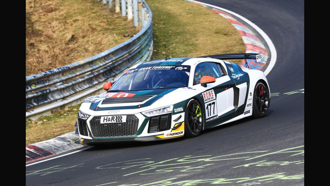 VLN - Nürburgring Nordschleife - Startnummer #177 - Audi R8 LMS - Phoenix Racing - SP10