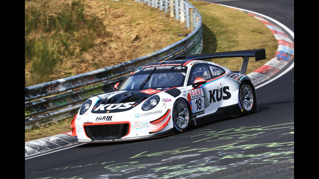 VLN - Nürburgring Nordschleife - Startnummer #18 - Porsche 911 GT3 R (991) - KÜS Team75 Bernhard - SP9 PRO