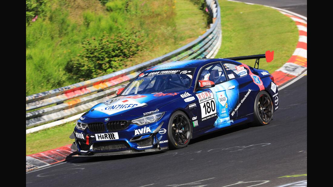 VLN - Nürburgring Nordschleife - Startnummer #180 - BMW M4 GT4 - Team Securtal Sorg Rennsport - SP10