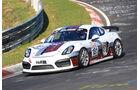 VLN - Nürburgring Nordschleife - Startnummer #181 - Porsche Cayman GT4 CS MR - Pit Lane - AMC Sankt Vith - SP10