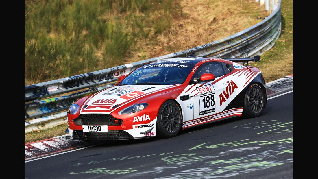 VLN - Nürburgring Nordschleife - Startnummer #188 - Aston Martin Vantage V8 - AVIA Racing - SP10