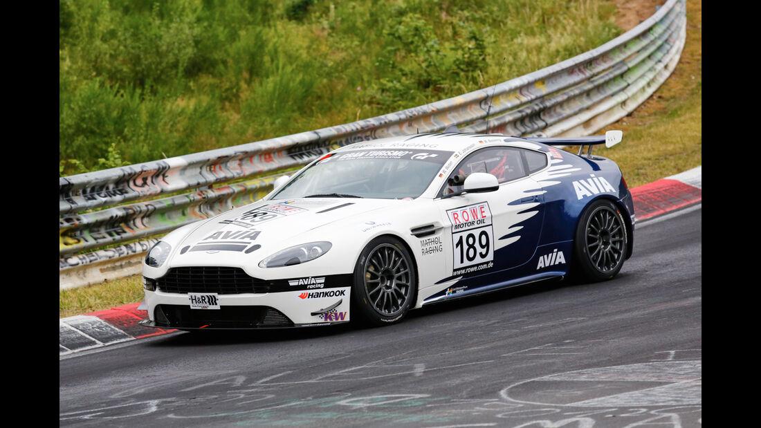 VLN - Nürburgring Nordschleife - Startnummer #189 - Aston Martin Vantage V8 GT4 - Avia Racing - SP10