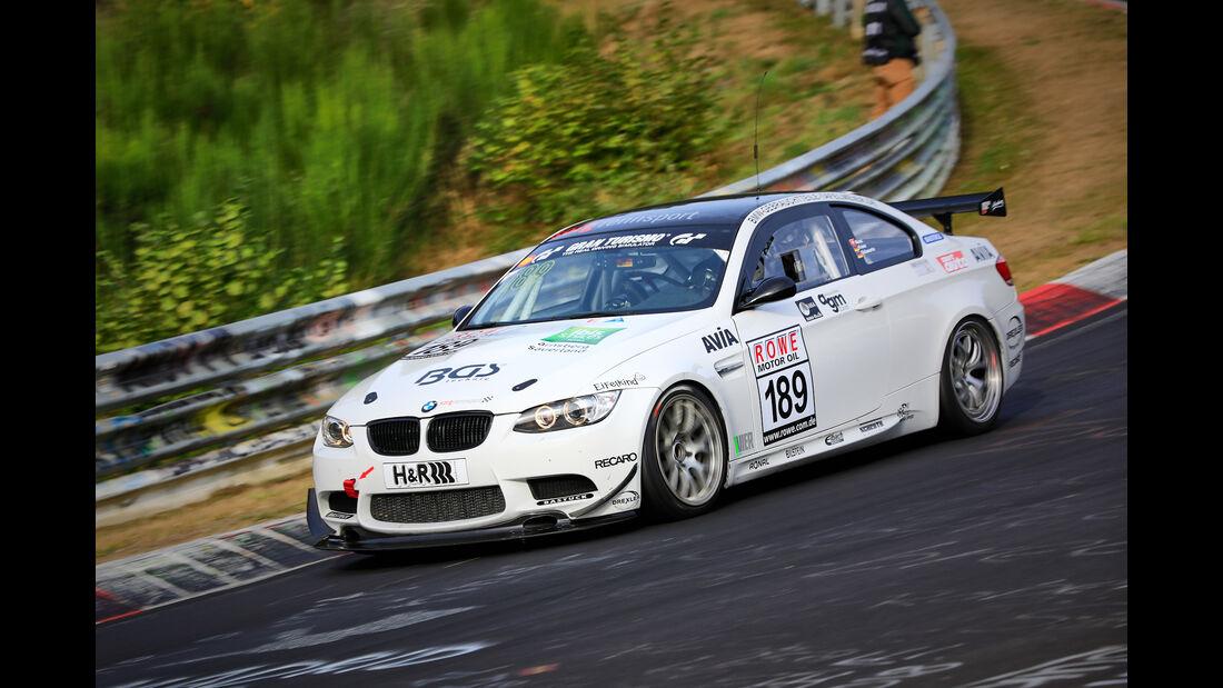 VLN - Nürburgring Nordschleife - Startnummer #189 - BMW M3 GT4 - Team Securtal Sorg Rennsport - SP10