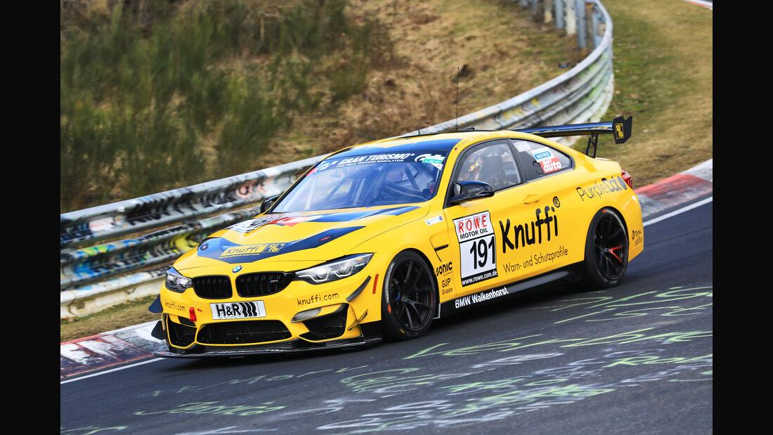 VLN - Nürburgring Nordschleife - Startnummer #191 - BMW M4 GT4 - Walkenhorst Motorsport - SP10
