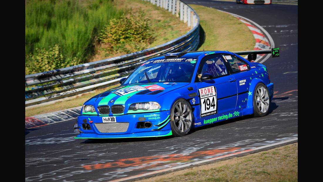VLN - Nürburgring Nordschleife - Startnummer #194 - BMW E46 - Hofor Racing - SP6
