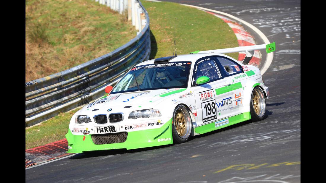 VLN - Nürburgring Nordschleife - Startnummer #198 - BMW M3 E46 - MSC Adenau e.V. - SP6