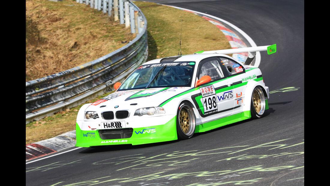 VLN - Nürburgring Nordschleife - Startnummer #198 - BMW e46 - MSC Adenau e.V. - SP6