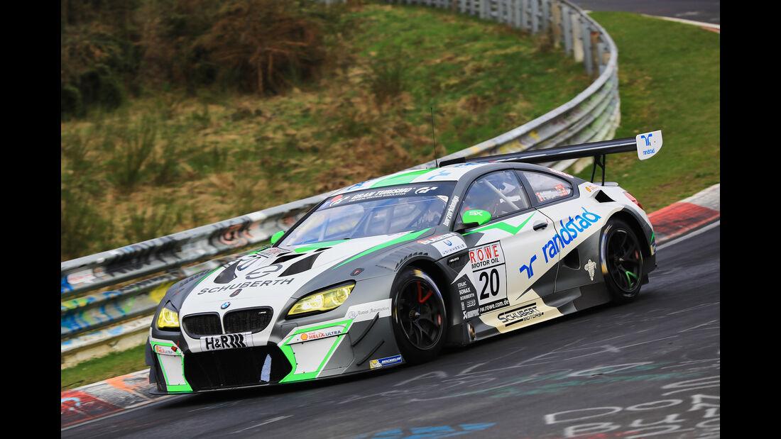 VLN - Nürburgring Nordschleife - Startnummer #20 - BMW M6 GT3 - Schubert Motorsport - SP9
