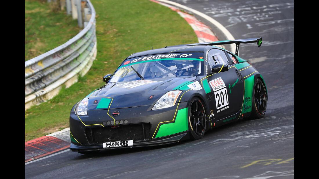 VLN - Nürburgring Nordschleife - Startnummer #201 - Nissan 350 Z - SP6