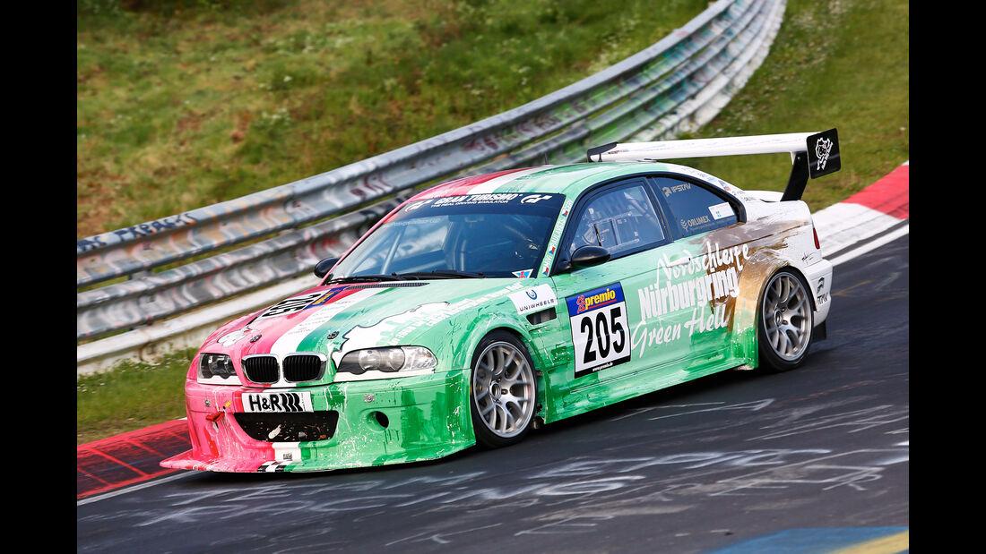 VLN - Nürburgring Nordschleife - Startnummer #205 - BMW M3 E46 - SP6
