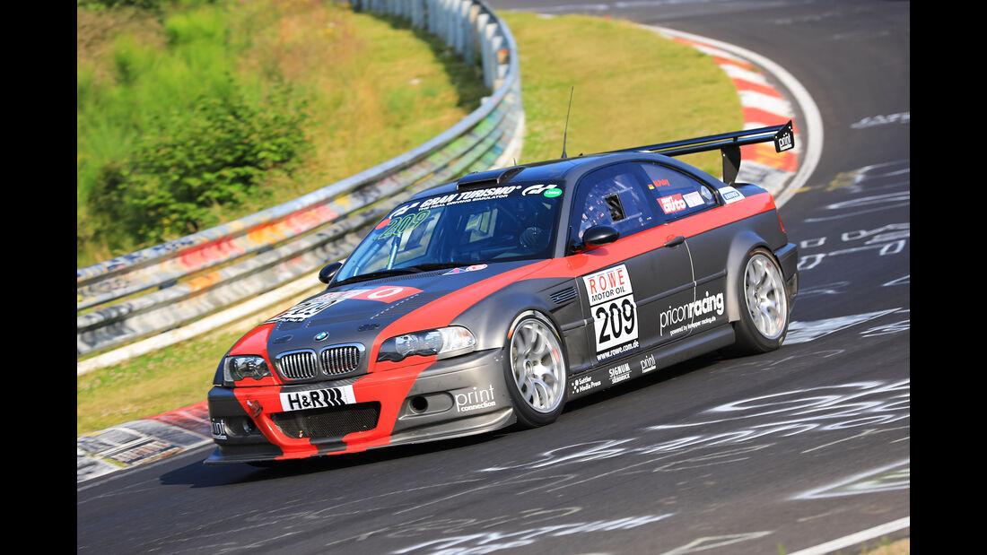 VLN - Nürburgring Nordschleife - Startnummer #209 - BMW E46 - Hofor - Racing - SP6
