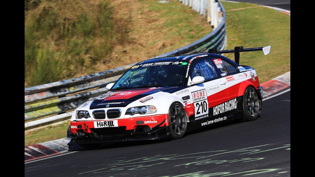 VLN - Nürburgring Nordschleife - Startnummer #210 - BMW M3 GTR - Hofor - Racing - SP6